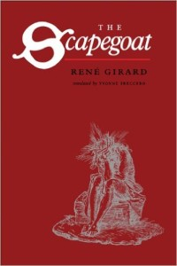 Girard - The Scapegoat